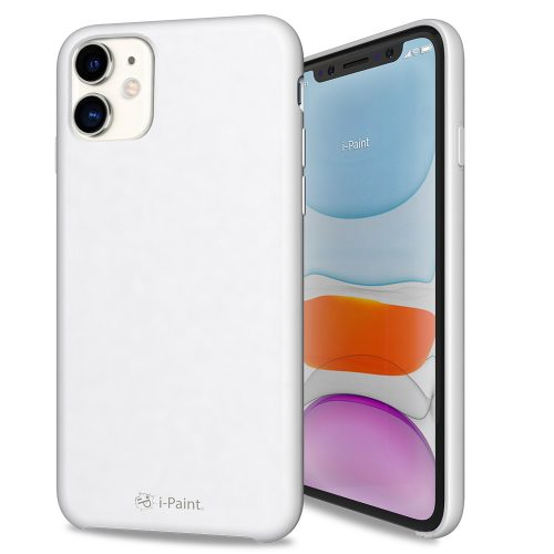 Cover in Silicone Semirigido per iPhone 11 - White