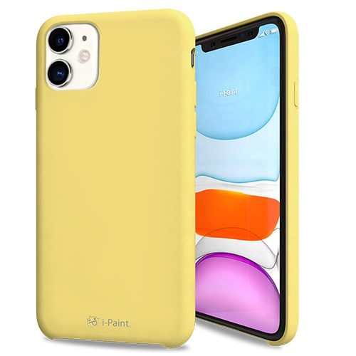 SOLID CASE-iP11_YELLOW
