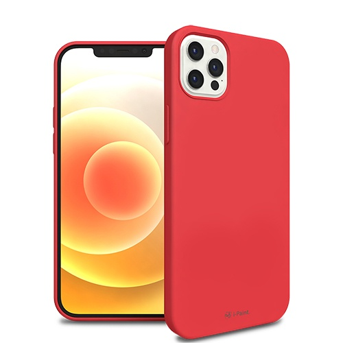SOLID CASE_iP12 PRO_RED
