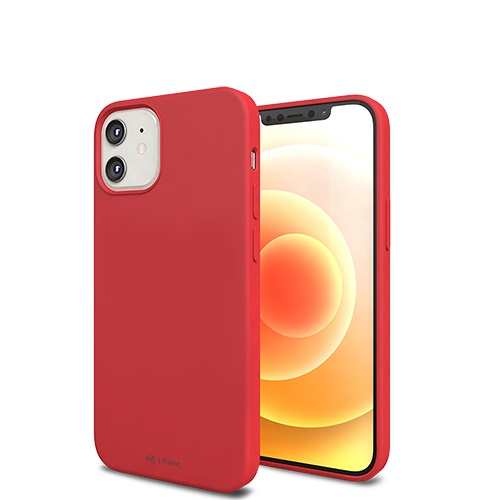 SOLID CASE_iP12mini_RED