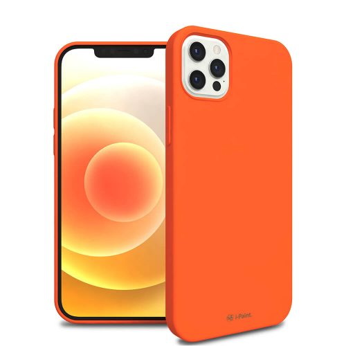SOLID CASE_iP12 PRO_ORANGE2